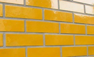 Eco Glazed Brick Slip yellow