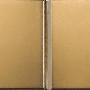 Bezel Gold Matt Wall Tiles