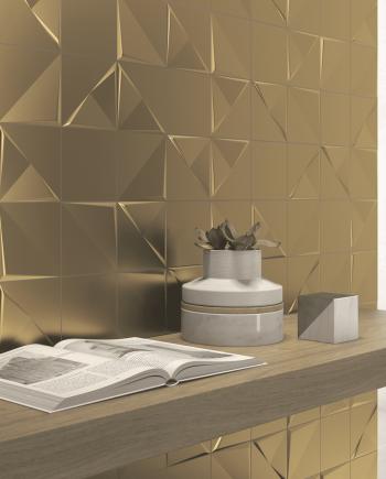 ALEATORY GOLD UAE tiles