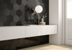 Geom Black WALL TILES