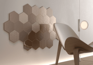 Geom Copper Wall Tiles