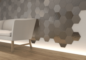 Geom Silver WALL TILES