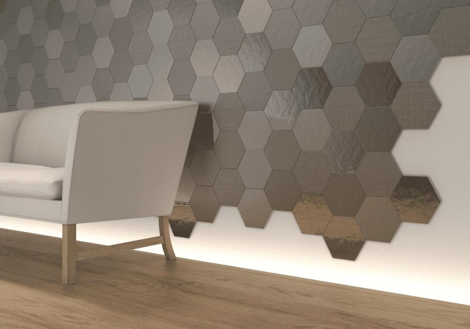 Geom Silver WALL TILES
