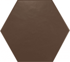 Geom Floor Brown Matt