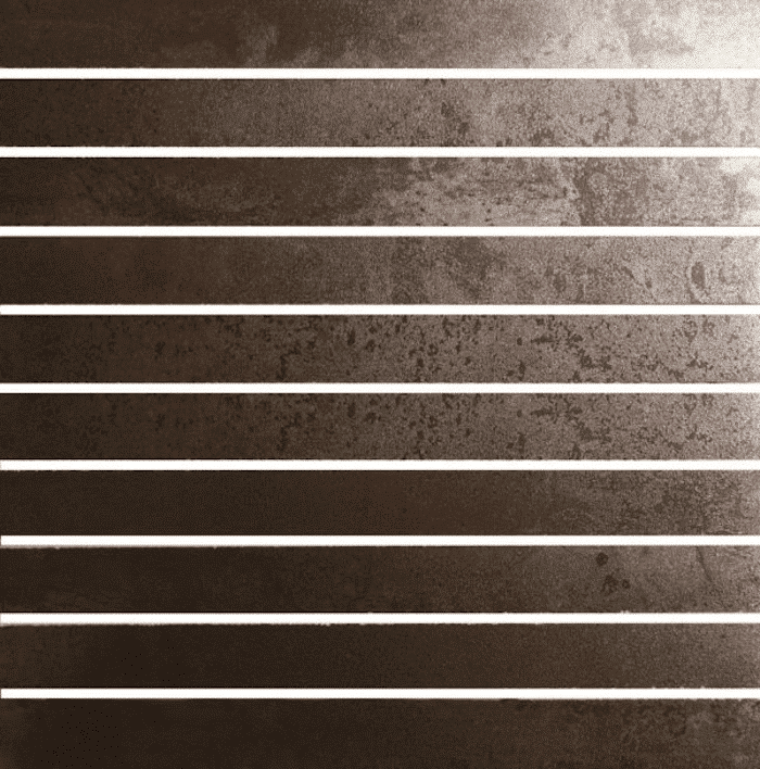 Interesting steel effect tiles