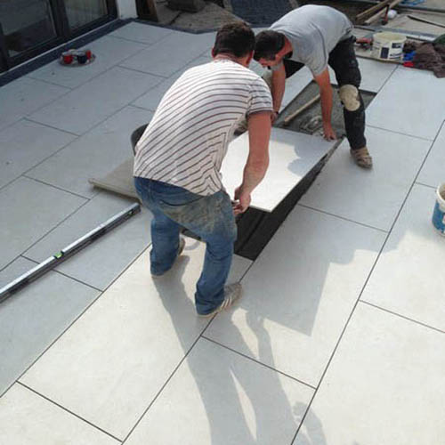 How to Install External Porcelain Tiles